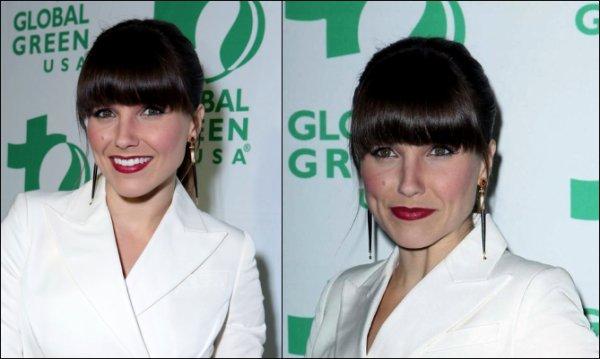 Le 20/02/13, Sophia était présente à l'événement « GLOBAL GREEN ». Je lui met un bof pour sa tenue, et vous? Le même jour, elle a été vue faisant du shopping. Pour moi c'est aussi un bof. + Photos personnels et Clip Passion Pit - Carried Away avec Sophia , j'adore le clip! Pas vous?