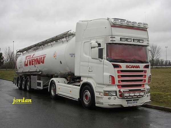 Scania 580 v8