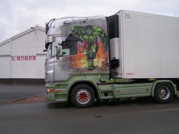 Scania R620 V8 HULK