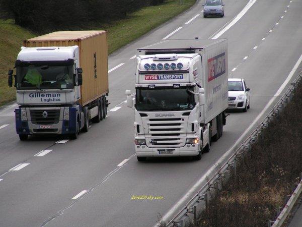 Scania r480 Vs Magnum 440 dxi