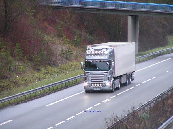 Scania topline r580 V8
