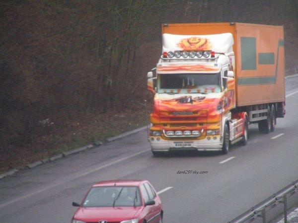 Scania Torpédo Higline T500 V8