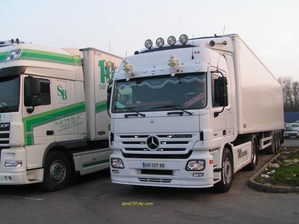 Mercedes actros 18-410