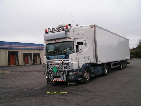 Scania v8 480