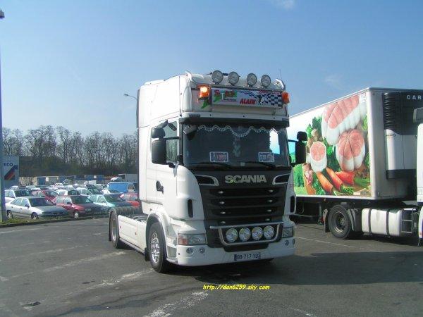 Scania r620 V8 Transport STAF