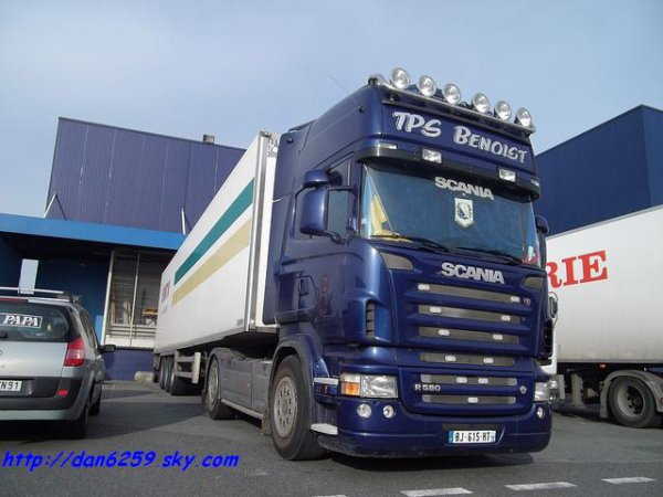 Scania R580 V8 (photo rungis)