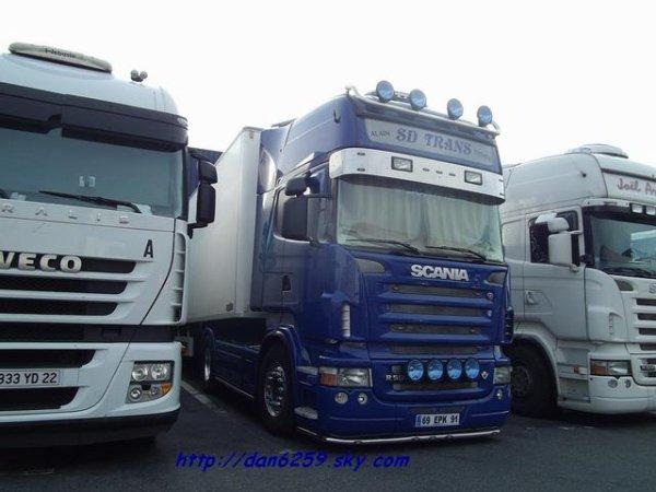 Scania R500 V8 (photo rungis)