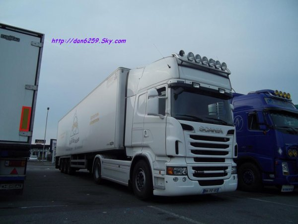 Scania r560 V8 (photo rungis)
