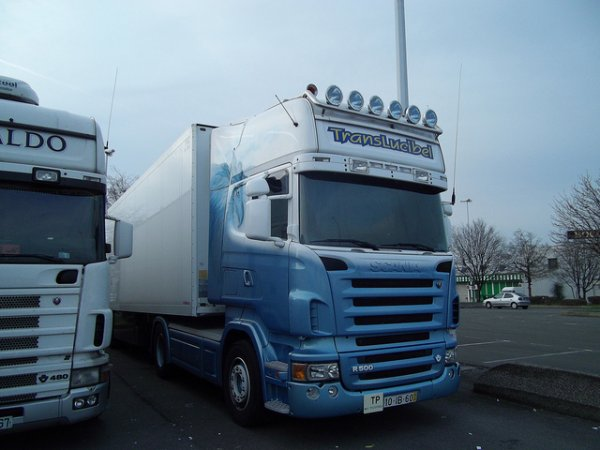 Scania R500 v8 (photo rungis)