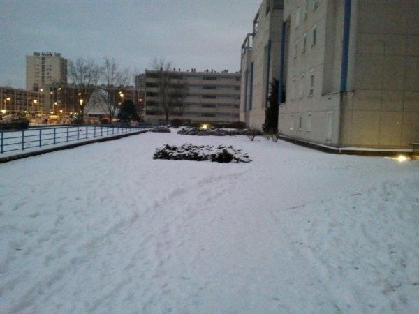Ma première neige
