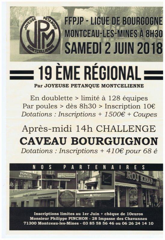 regional 2 juin 2018