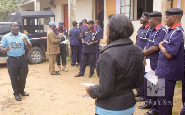 Christ Embassy Impacts 237 Officers of the NSCDC with Ministry