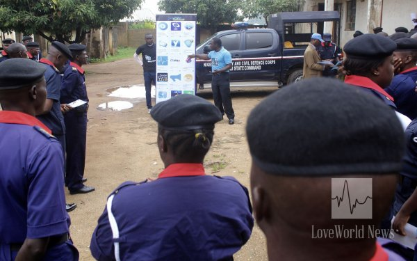 Christ Embassy Impacts 237 Officers of the NSCDC with