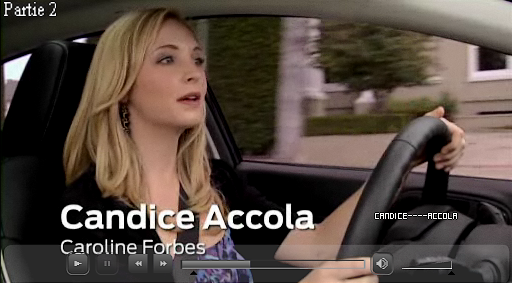 Vidéos de Candice pour Ford !  Voici les trois parties où Candice pose des questions à Julie Plec, à Kevin Williamson sur ce qui nous attend dans la saison 3 ! (Cliquez sur l'image pour voir la vidéo)