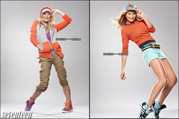 """Promo de TVD + Photo de Candice + Photoshoot Candice + Vidéo Candice !  Promo de l'épisode 3X07 de TVD intitulé """"Ghost World"""" + Photo de Candice portant le bracelet """"Vampire Barbie"""" que vous pouvez acheter ici + Deux photos tirés du photoshoot de Candice pour Seventeen + Apprenez les pas de danse préférés de Candice !"""