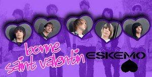 Eskemo en mode St Valentin sur Gossip News Daily