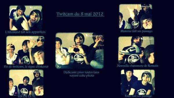 Romain & Benjamin - Twitcam 08 mai 2012