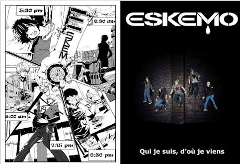 Eskemo - Article dans Gossip News Daily