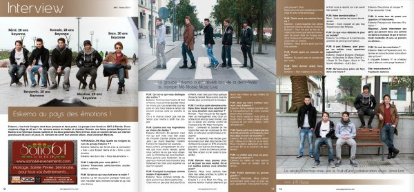 Eskemo - Interview dans Issuu