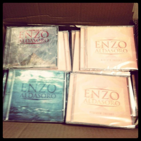 Enzo et ces premiers albums