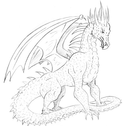 Dessiner un dragon
