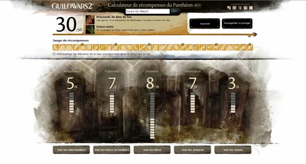 De Guild Wars à Guild Wars 2 en passant par le Panthéon des Hauts Faits