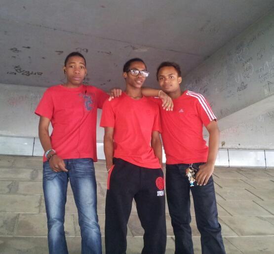 Les 3 Rouge (Les Inséparable)