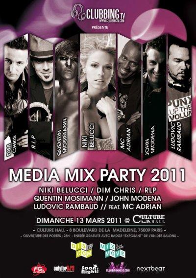 [13.03] CLUB : Culture Hall à Paris