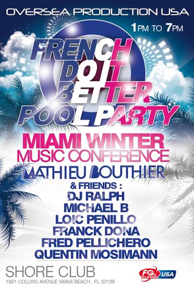 [11.03] CLUB : Le Shore club official pool party à Miami