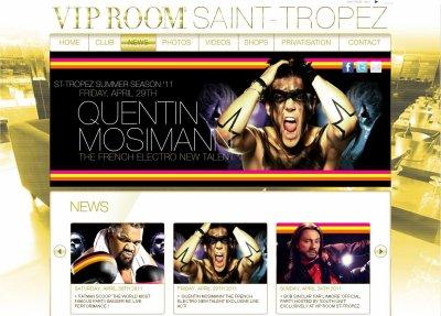 [29.04] CLUB : VIP Room à Saint Tropez