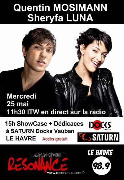 [25.05] RADIO + SHOWCASE : Radio Résonance + magasin Saturn au Havre
