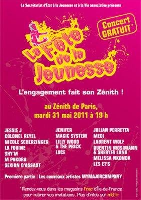 [31.05] CONCERT : La Fête de la jeunesse à Paris