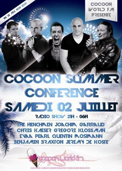 [02.07] RADIO : Cocoon Summer Conference sur Cocoon World fm