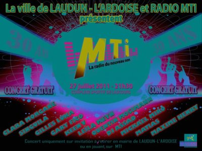 [27.07] CONCERT : Plateau à Laudun l'Ardoise