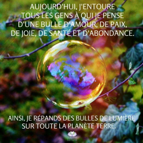 bulles d'amour