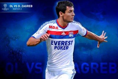 Olympique Lyonnais contre Dynamo Zagreb 2ème journée de poule de la Ligue des Champions à 20h45 sur TF1