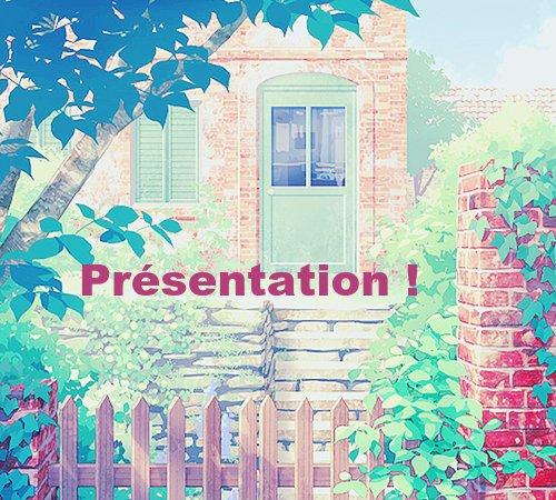 Bienvenue, présentation et Sommaire:
