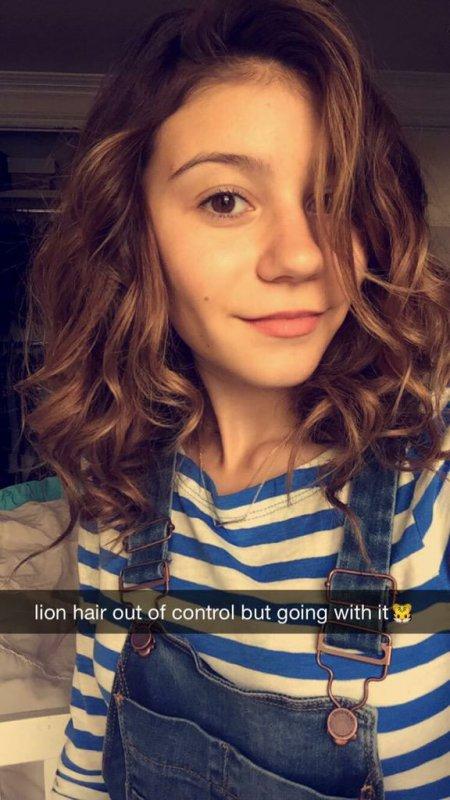 G Hannelius sur Snapchat !