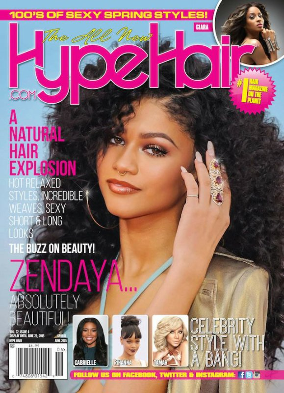 Zendaya dans un magazine américain !