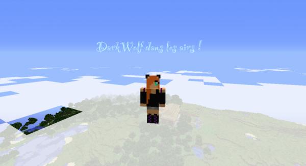 DarkWolf dans les airs :)