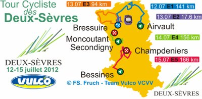 Tour des Deux-Sèvres (Elite Nationale) 12 --> 15 juin