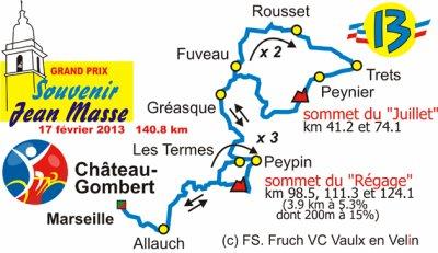 Coupe de France DN1 #1 : GP Jean Masse (13), 17 février