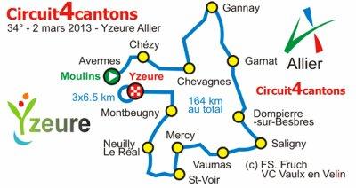 2&3 Mars : Circuit des 4 Cantons et St Saulge