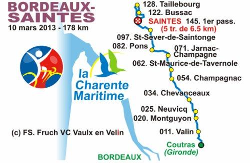 Bordeaux-Saintes, Coupe de France DN1 #2
