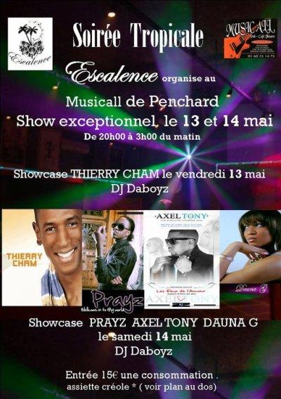 Retrouvez Thierry Cham le 13 mai 2011 au musicall de penchard