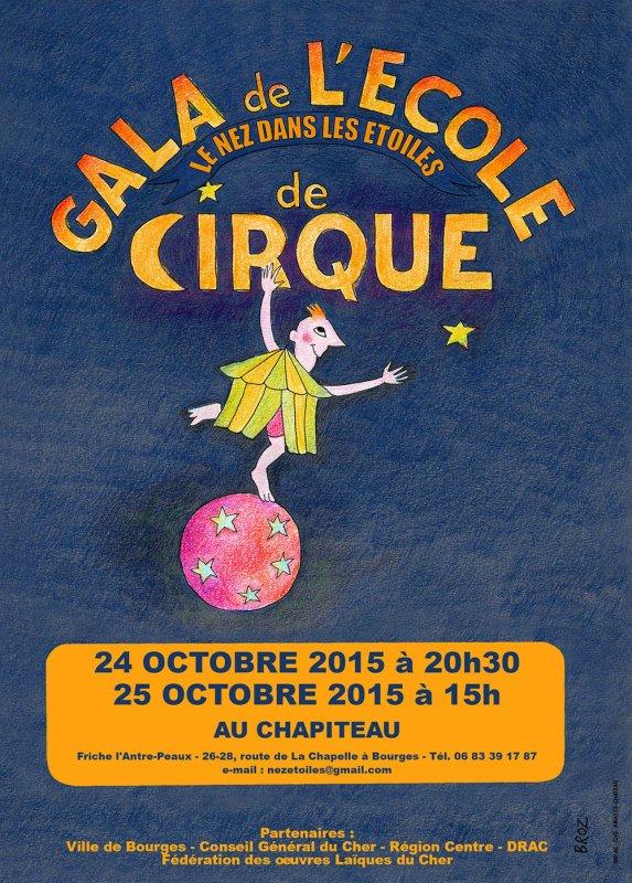 Gala de l'école de cirque !