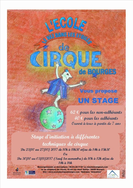 Stage d'octobre !!