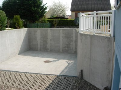 Descente de garage blog de plain pied munchhouse for Revetement descente de garage