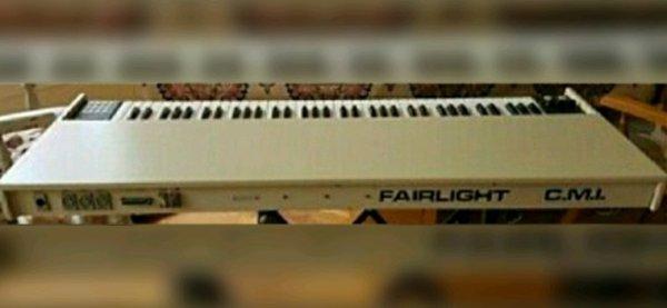 Le clavier du Fairlight