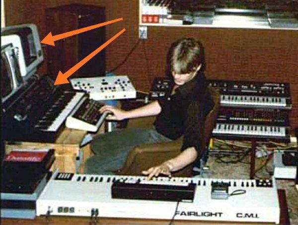 Fairlight ET Synclavier pour Daniel